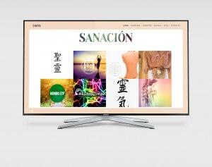 Samung-tv- diseño de pagina web