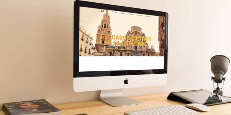 página web en Murcia
