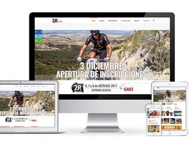 Página Web para 2 Reinos MTB Race