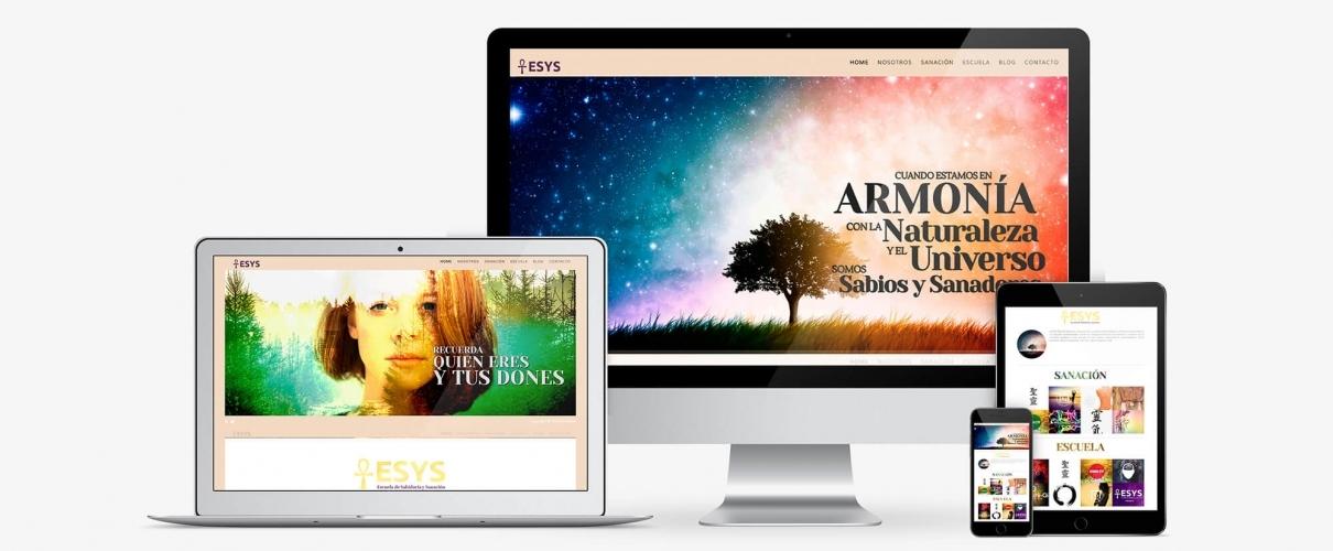 Diseño de Página Web para ESYS (MADRID)