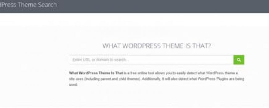 Detectar un Template y Plug Ins en una web hecha con WordPress