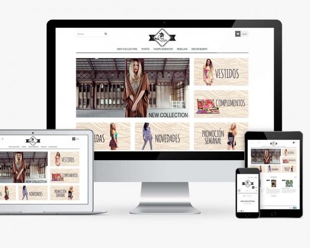 LA FLOR Y NATA (Tienda online PrestaShop)