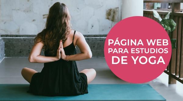 página web de yoga